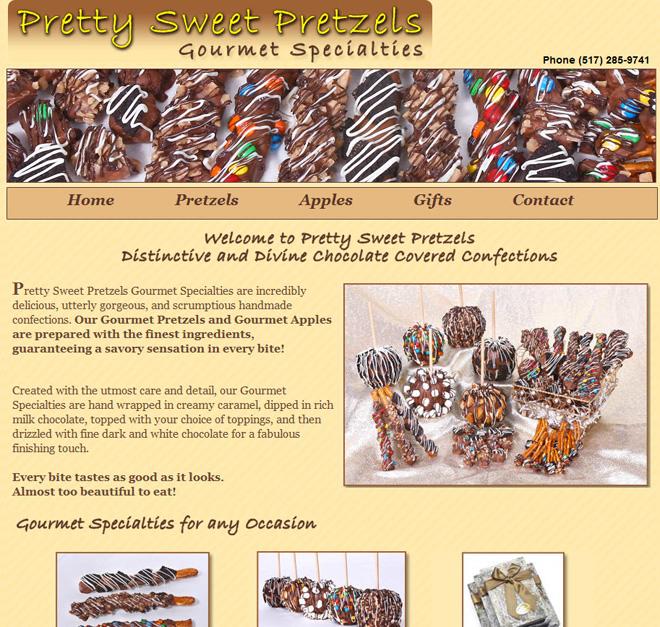 The Client: Pretty Sweet Pretzels