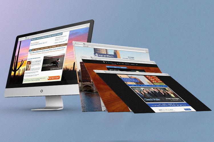 Michigan Legal Firm website design